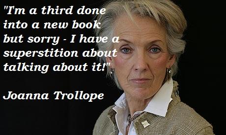 Joanna Trollope's quote #1