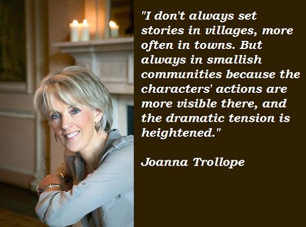Joanna Trollope's quote #2