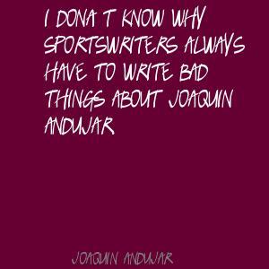 Joaquin Andujar's quote #4