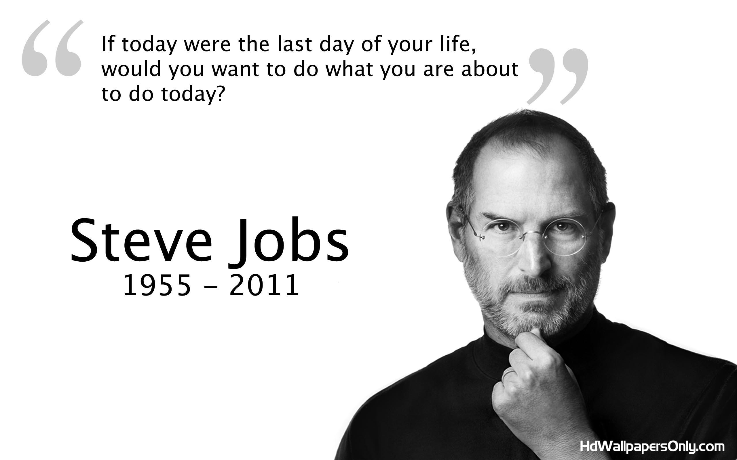 Jobs quote #1