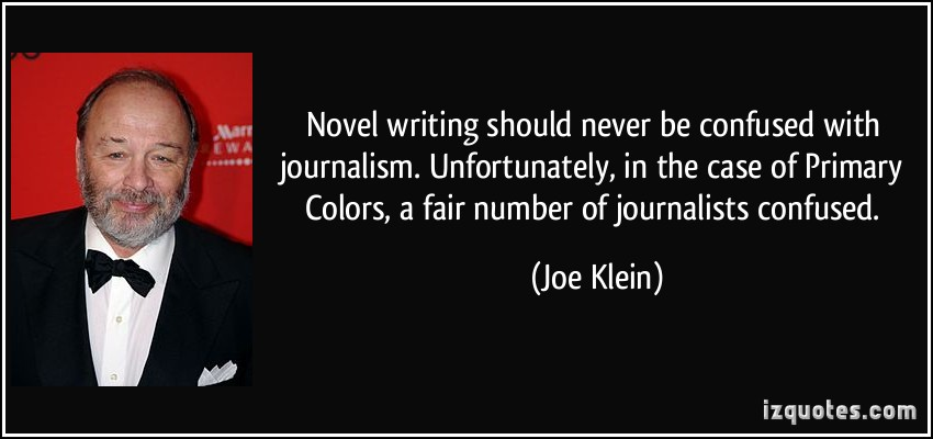 Joe Klein's quote #8