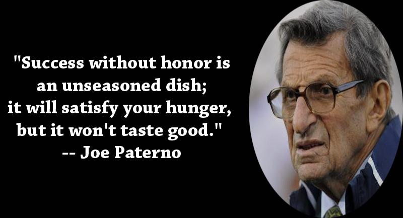 Joe Paterno's quote #6