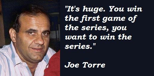 Joe Torre's quote #1