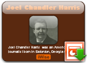 Joel Chandler Harris's quote #1
