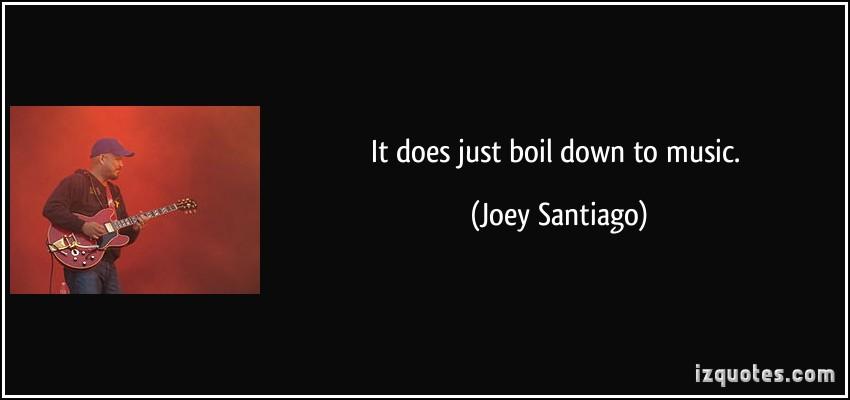 Joey Santiago's quote #3