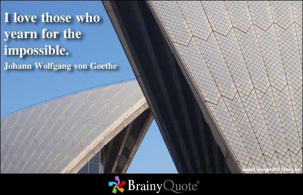 Johann Wolfgang von Goethe's quote #5