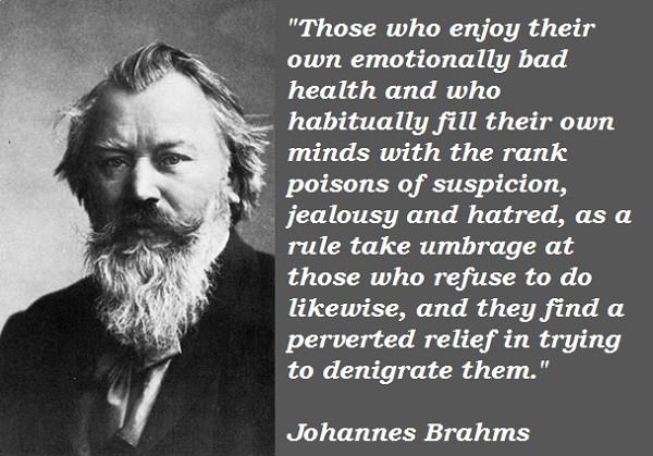 Johannes Brahms's quote #4