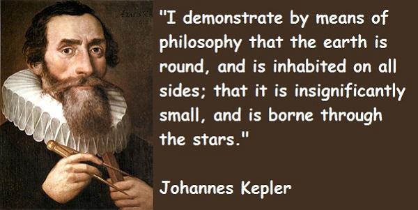 Johannes Kepler's quote #1