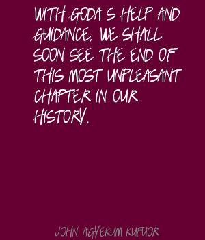 John Agyekum Kufuor's quote #1