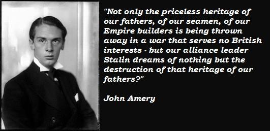 John Amery's quote #3