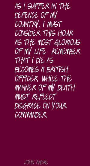 John Andre's quote #1