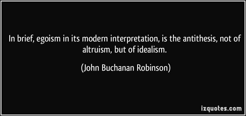 John Buchanan Robinson's quote #1