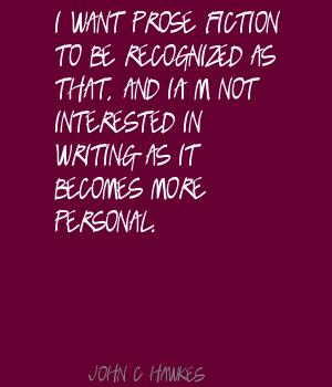John C. Hawkes's quote #1