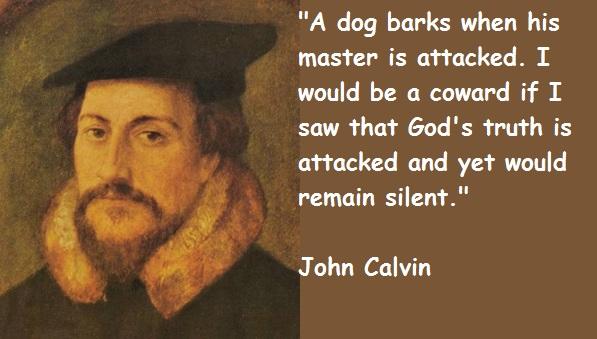 John Calvin's quote #5