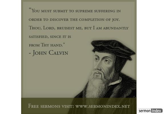 John Calvin's quote #7