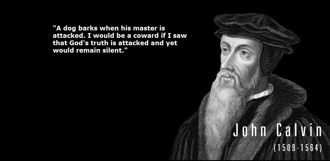 John Calvin's quote #1