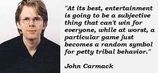 John Carmack's quote #1