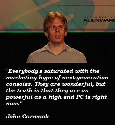 John Carmack's quote #2