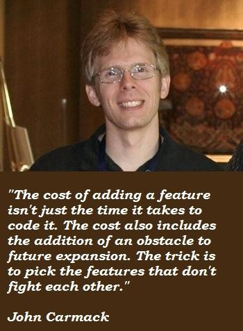 John Carmack's quote #4
