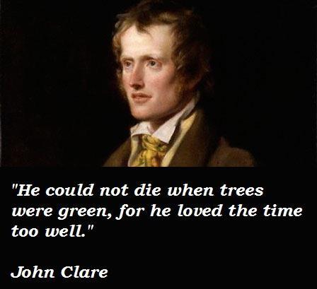 John Clare's quote #2