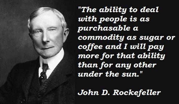 John D. Rockefeller's quote #8