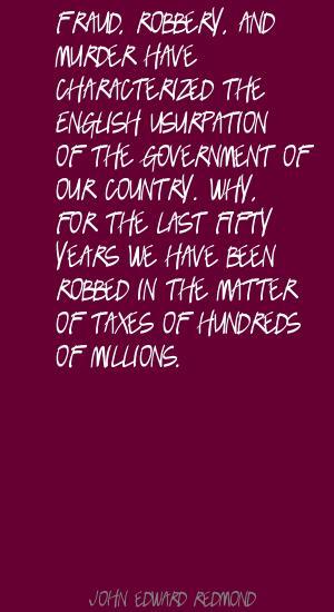 John Edward Redmond's quote #1