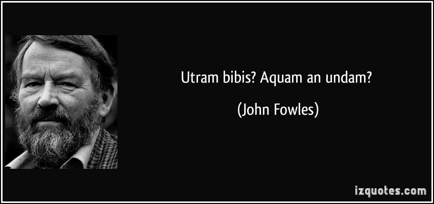 John Fowles's quote #4