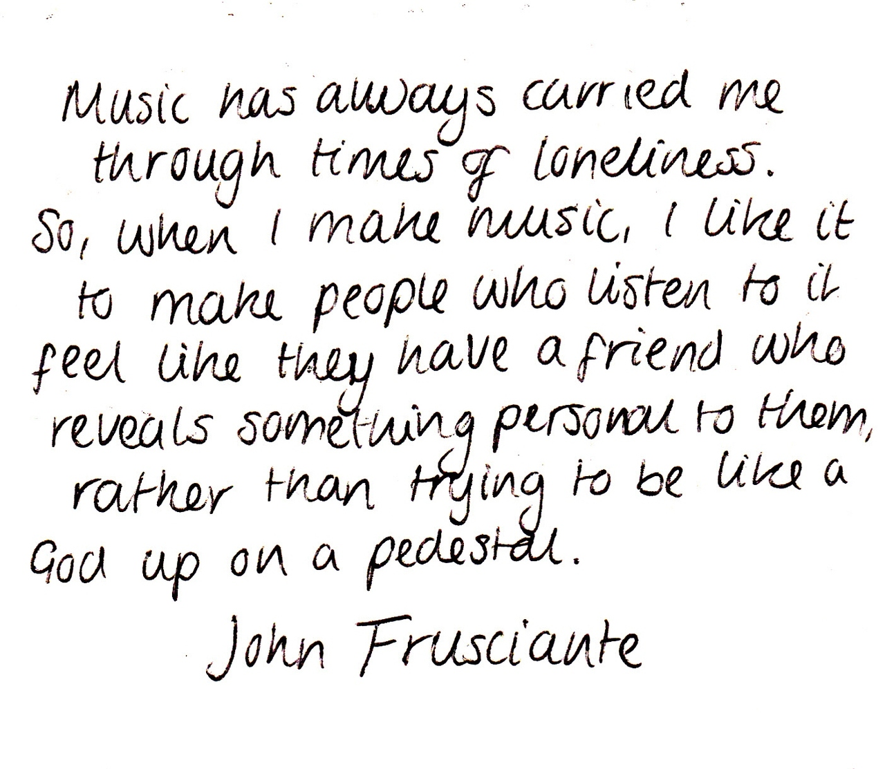 John Frusciante's quotes, famous and not much - Sualci Quotes John Frusciante Quotes