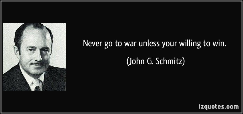 John G. Schmitz's quote #1