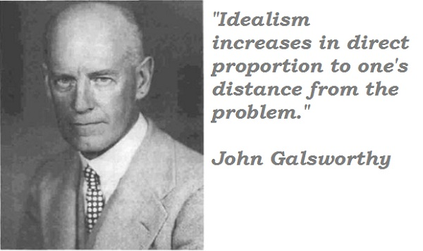 John Galsworthy's quote #7
