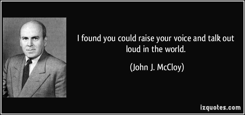 John J. McCloy's quote #1