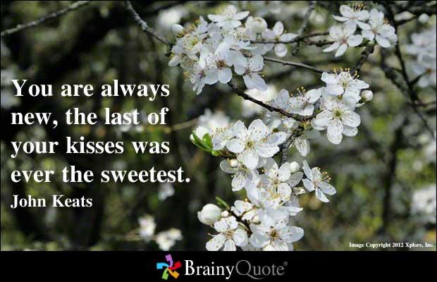 John Keats's quote #1