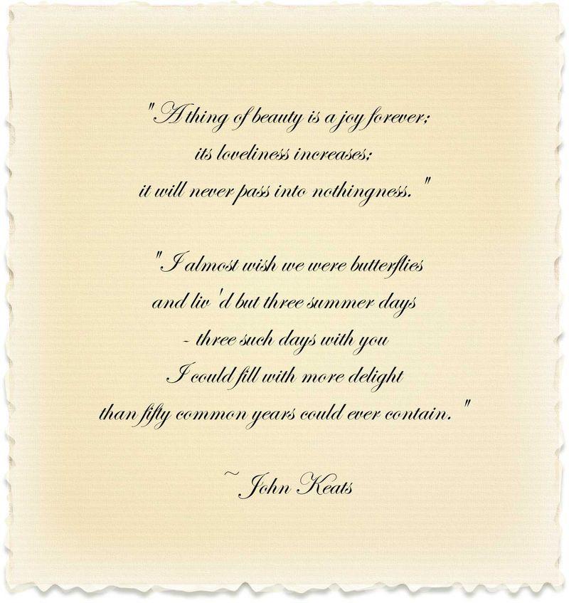 John Keats's quote #7