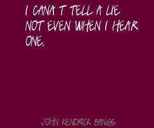 John Kendrick Bangs's quote #1