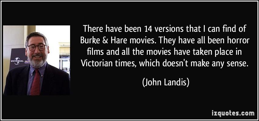 John Landis's quote #5