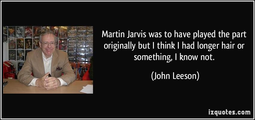 John Leeson's quote #3
