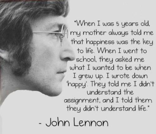 John Lennon quote #1