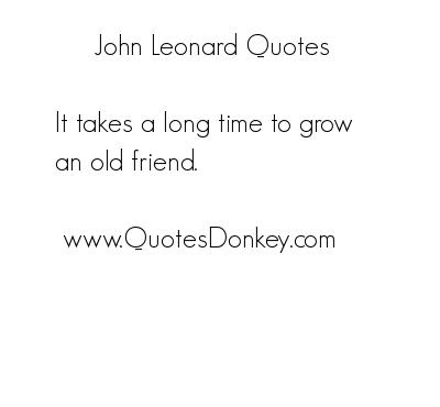 John Leonard's quote #3