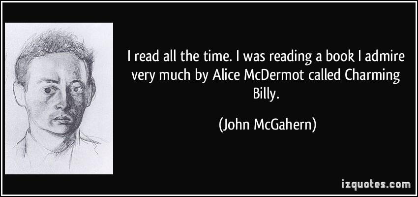 John McGahern's quote #5