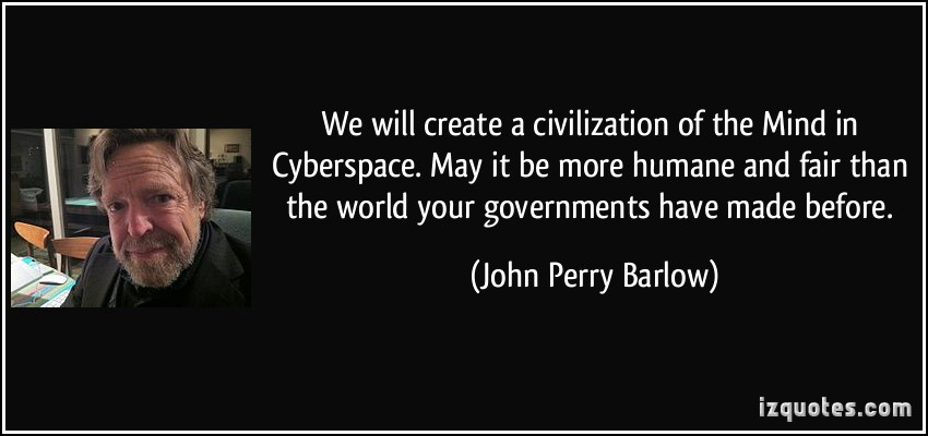 John Perry Barlow's quote #7