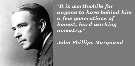 John Phillips Marquand's quote #2