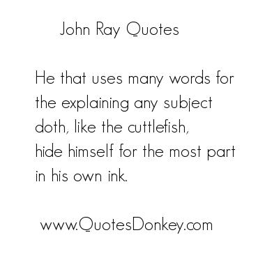 John Ray's quote #5