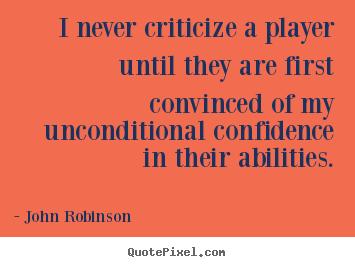 John Robinson's quote #4