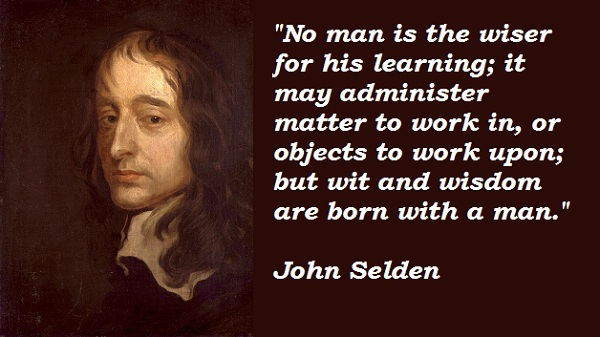 John Selden's quote #1