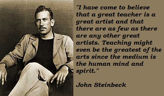 John Steinbeck's quote #1