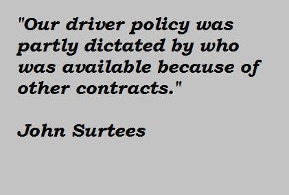 John Surtees's quote #3