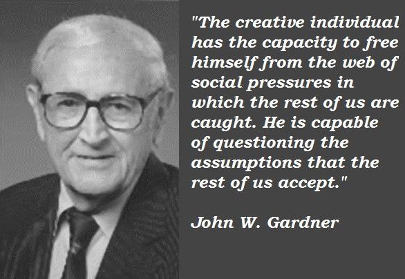 John W. Gardner's quote #7