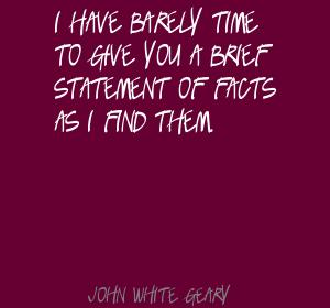 John White Geary's quote #8