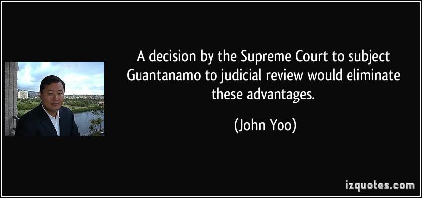 John Yoo's quote #4