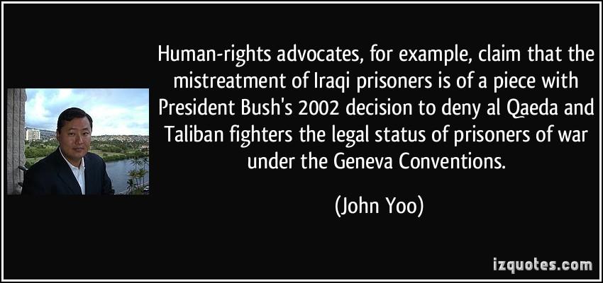 John Yoo's quote #7